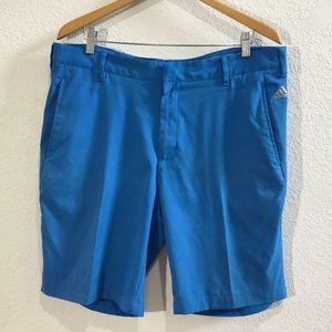 Adidas Golf Shorts in Bleu de France color